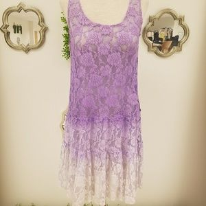 Free People ONE Ombre Lace Dress